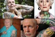 Cómo lucen los tatuajes al envejecer