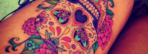 8 tatuajes de calaveras que te encantarán