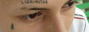 Tatuaje de lágrimas
